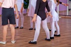 Ballet dancers, legs Royalty Free Stock Image