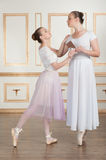 Ballet dancers posing with chocolate Stock Photography