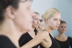 Ballet Dancers In Rehearsal Room Royalty Free Stock Images