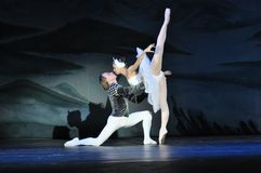 BALLET DANCERS, SWAN LAKE BALLET Stock Images