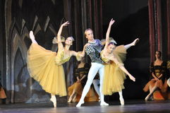 BALLET. Dancers in the Swan Lake , Moscow Stock Photography