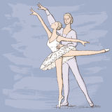 Ballet dancers Royalty Free Stock Photos