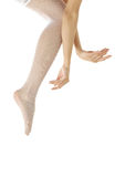 Ballet dancing Royalty Free Stock Photo