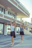Ballet dans la ville images stock