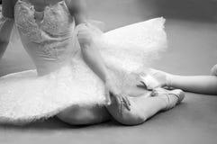 Ballet-danser Stock Afbeeldingen