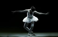Ballet danser-actie Stock Afbeeldingen