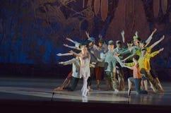 Ballet de conte Images libres de droits