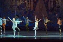 Ballet de conte Image libre de droits