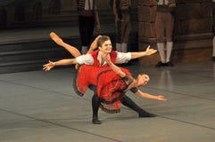 Ballet de Don Quichotte Foto de archivo