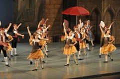 Ballet de Don Quichotte, principales Imagen de archivo libre de regalías