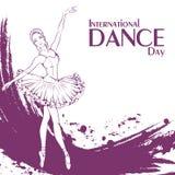 Ballet de jour de danse Images stock