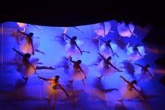 Ballet de la danza Fotografía de archivo libre de regalías