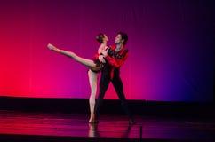 Ballet de la habitación de Carmen Fotos de archivo libres de regalías