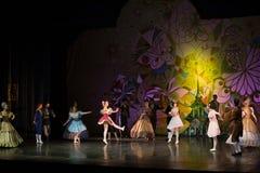 Ballet de la magia-fantasía de la Navidad Foto de archivo