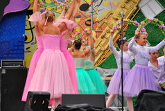 Ballet de los niños rusos Foto de archivo libre de regalías