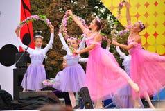 Ballet de los niños rusos Imágenes de archivo libres de regalías