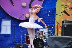 Ballet de los niños rusos Fotografía de archivo libre de regalías