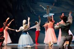 Ballet de magie-imagination de Noël le casse-noix images libres de droits