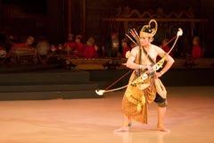 Ballet de Ramayana Imágenes de archivo libres de regalías