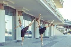Ballet in de stad Stock Afbeelding