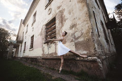 Ballet en la ciudad vieja Fotografía de archivo libre de regalías