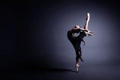 Ballet en la oscuridad Fotos de archivo