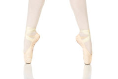 Ballet Feet Positions Stock Photos