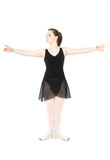 Ballet first position Royalty Free Stock Photo
