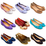 Ballet Flat Shoes-2 Stock Image