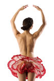 The ballet flower Royalty Free Stock Image