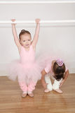 Ballet Friends Royalty Free Stock Photography
