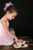 Ballet girl Stock Images