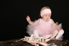 Ballet Girl Stock Photography