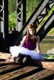 Ballet girl Royalty Free Stock Photos