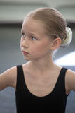 Ballet girl portrait Stock Image