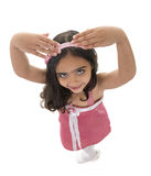 Ballet Girl Top View Stock Images