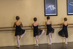 Ballet Girls Bar Stock Photos