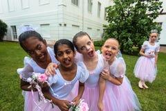 Ballet Girls Fun Stock Photos