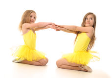 Ballet  girls Stock Photo