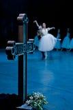 Ballet Giselle in de Opera van de Staat van Praag Royalty-vrije Stock Foto's