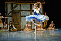 Ballet Giselle in Prague State Opera Royalty Free Stock Photos