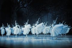 Ballet Giselle in Prague State Opera Royalty Free Stock Photo