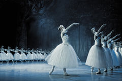 Ballet Giselle in Prague State Opera Royalty Free Stock Images