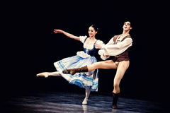 Ballet Giselle in Prague State Opera royalty free stock image