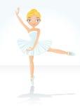 Ballet hermoso del baile Fotografía de archivo