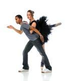 Ballet and Hip Hop Dancers Stock Image