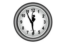 Ballet hour Stock Photography