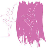 Ballet icon Royalty Free Stock Photography
