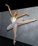 Ballet Model at 2016 Photo Plus International Expo and Conference Trade Show. Consumers and professionals attend the 2016 Photo Plus International Expo and royalty free stock image