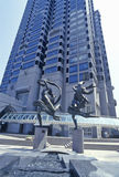 �Ballet Olympia� by Paul Manship at One Peachtree Center, Atlanta, Georgia Stock Images